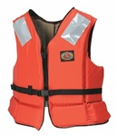 Stearns I416Org-04-000 Deckhand Ii Vest Nylon Large Orange