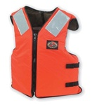 Stearns I460Org-07-000 Work Boat Vest Nylong 3X-Large Orange