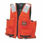 Stearns I422Org-03-000 First Mate Vest Nylon Small/Medium Orange