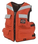 Stearns I465Org-04-000F Versatile Vest Nylon Large Orange