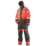Coleman / Stearns I580O/B-04-000 Challenger Anti Exposure Work Suit N/W Nylon, Orange & Black, Size Large