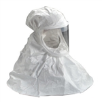 3M BE-10-3 White Respirator Hoods, Polycoated Tyvek, Case of 3 Each