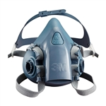 3M 7502 Respirator, Half Facepiece Medium