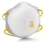 3M 8211 Respirator, N95 Particulate (10/Bx)