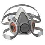 3M 6100 Reusable Half Mask Respirator, Small, 1 Each