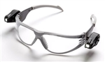 3M 11356-00000-10 Light Vision Safety Glasses Black Temples Clear Af Len