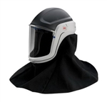 3M M-407 Versaflo Respiratory Helmet Assembly with Premium Visor and Flame Resistant Shroud