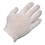 Ammex CIG Cotton Gloves Liners 12 pair/package; 12 packs/case