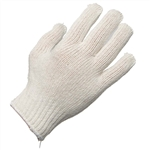 Ammex SKB Bleached String Knit Gloves 12 pair/package; 12 packs/case