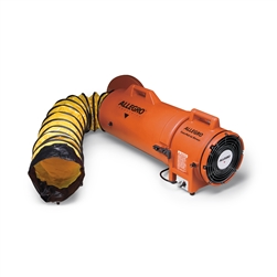 "Allegro 9533-25 8"" Plastic COM-PAX-IAL Blower, AC w/ 25' Ducting & Canister Assembly"