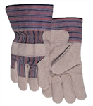 Weldas 10-2215L Gloves, Work Leather Palm W/Cuff