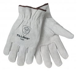 Tillman 1400-M Cowhide, Unlined, Drivers Gloves, Size Medium