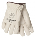 Tillman 1410-M Top Grain Pigskin, Premium Drivers Gloves, Size Medium