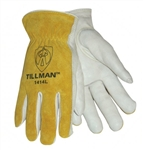 Tillman 1414-M Top Grain Leather Drivers Gloves, Medium, 1 Pair