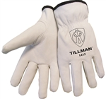 Tillman 1415-XL Top Grain Goatskin Driver's Gloves, X-Large, 1-Pair
