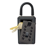 Kidde 001406 Portable Pushbutton Key Box, Black, Reshipper Pack