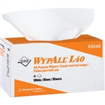 Kimberly Clark 03046 WypAll L40 Wipers, Pop-Up Box, 9 Boxes/90 ea