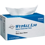 Kimberly Clark 03086 WypAll L30 Wipers, Pop-Up Box, 10 Boxes/120 ea