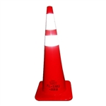 "Cortina 0350025OC 36"" Florida DOT Traffic Cone"