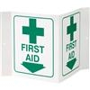 "Logistics 03VL First Aid, 3-D, Rigid Plastic, 5"" x 6"""
