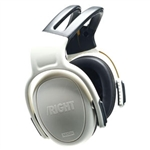 MSA 10087436 Left/Right Earmuffs, Low, NRR 21, White
