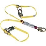 MSA 10088214 Sure-Stop Twin-Leg Tie-Back Lanyard