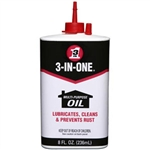 WD-40 10138 3-In-One Multi-Purpose Oil, 8 oz, 12/Case