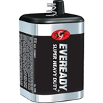 "Energizer 1209 Eveready Super Heavy Duty ""6V"" Battery (Spring Top)"