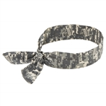 Ergodyne 12304 Chill-Its 6700 Bandana, Tie Closure, Camo