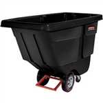 "Rubbermaid 131400BK Rubbermaid Utility-Duty Rotational Tilt Truck, 72 1/4""L x 33 1/2""W x 43 3/4""H"
