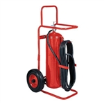 Badger 20127 50 lb Wheeled Stored Pressure ABC Extinguisher
