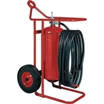 Badger 20653 125 lb ABC Wheeled Stored Pressure Fire Extinguisher