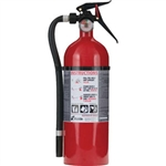 Kidde 21005766 5 lb ABC Fire Extinguisher w/ Wall Hook (Disposable)
