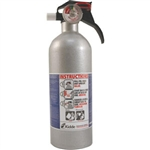 Kidde 21006287 Automotive 2 lb BC Fire Extinguisher w/ Nylon Strap Bracket (Disposable)
