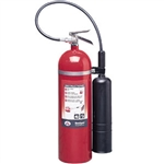 Badger 21103 Extra 15 lb CO2 Fire Extinguisher w/ Wall Hook