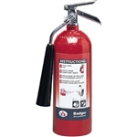 Badger 21111 Extra 5 lb CO2 Fire Extinguisher w/ Wall Hook