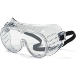 MCR Safety 2220 Crews Protective Goggles, Perforated, Elastic Strap