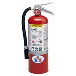 Badger 22486 Standard 5 lb ABC Fire Extinguisher w/ Vehicle Bracket