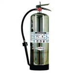 Amerex 250 2.5 gal AFFF Foam Extinguisher w/ Brass Valve & Wall Hook