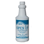 QuestVapco 300016 Open Up Alkaline Drain Opener, Case of 12 - 1 Quart Containers