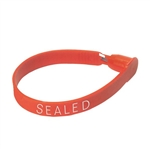 Logistics 308RED Plastic Truck Fixed-Length Seal, Red