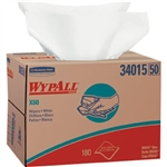 Kimberly Clark 34955 WypAll X60 Wipers, Jumbo Roll, White, 1100/Roll