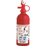 Kidde 4004000 Pindicator 1 lb BC Fire Extinguisher w/ Wall Hook (Disposable)
