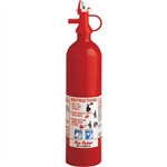 Kidde 4104000 Pindicator 2 lb BC Fire Extinguisher w/ Nylon Strap Bracket (Disposable)