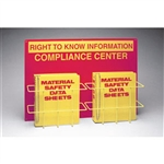 Brady 42205 Double Right To Know Compliance Center