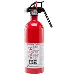 Kidde 440160 2 lb Automotive BC Fire Extinguisher w/ Nylon Strap Bracket (Disposable)