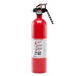 Kidde 440161 Automotive 2 3/4 lb BC Fire Extinguisher w/ Steel Strap Bracket (Disposable)