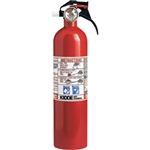Kidde 466141 2 3/4 lb BC Fire Extinguisher w/ Nylon Strap Bracket (Disposable)