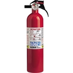 Kidde 466142 2 1/2 lb ABC Fire Extinguisher w/ Nylon Strap Bracket (Disposable)