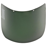 "MSA 488132 Defender + Face Shield, Polycarbonate Formed, Clear, 16"" x 8"" x 0.060"""
